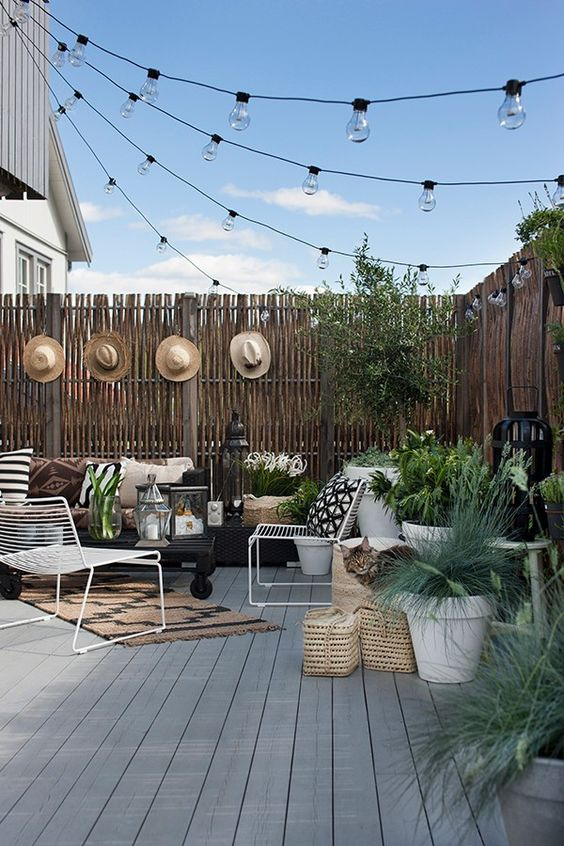 Fence Inspiration Ideas: Outstanding Bamboo Fence