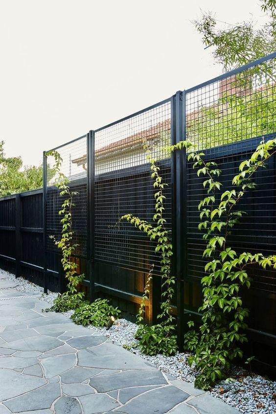Fence Inspiration Ideas: Unique Double Fence