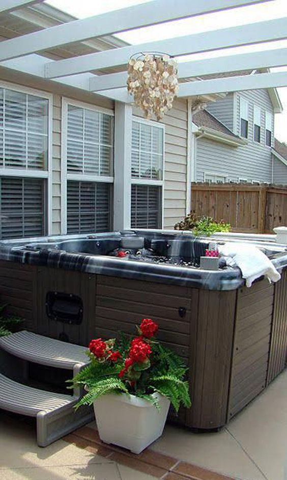 Hot Tub Decor: Simple Decor Item