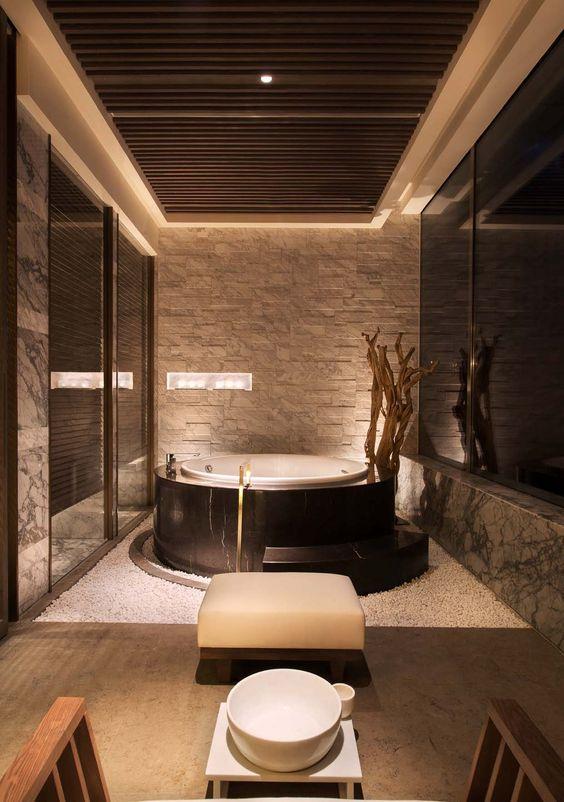 Hot Tub Decor: Breathtaking Indoor Tub