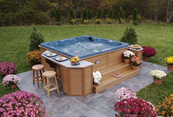 Hot Tub Decor