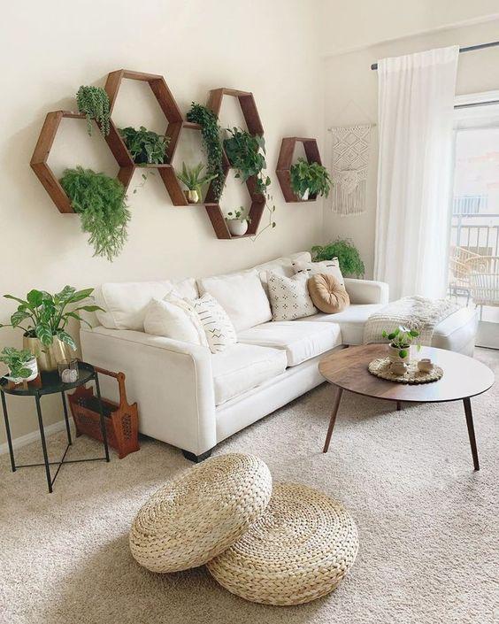 Living Room Design Ideas: Airy Rustic Farmhouse