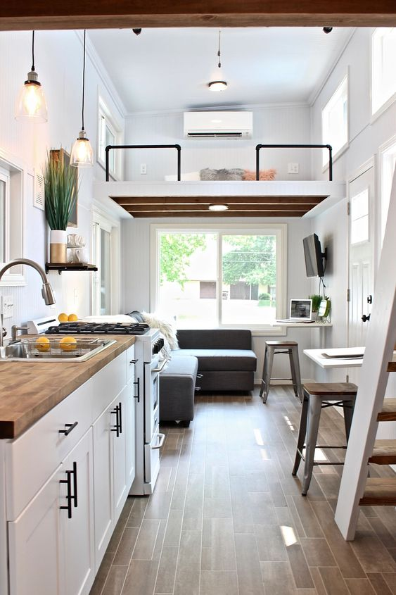 Loft Bedroom Ideas: Airy and Fresh