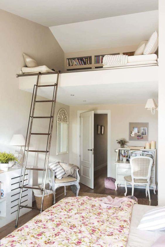 Loft Bedroom Ideas: Cozy Reading Corner