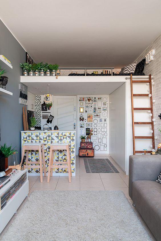 Loft Bedroom Ideas: Decorative Small Bedroom