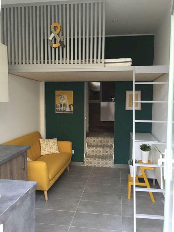 Loft Bedroom Ideas: Sleek Small House
