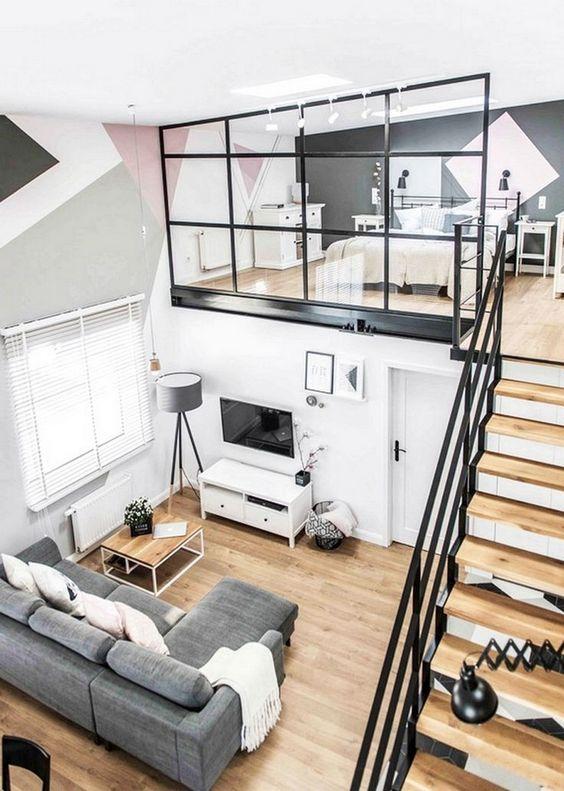 Loft Bedroom Ideas: Breathtaking Bright Bedroom