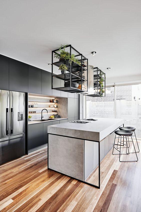 Modern Kitchen Ideas: Modern Industrial Concept