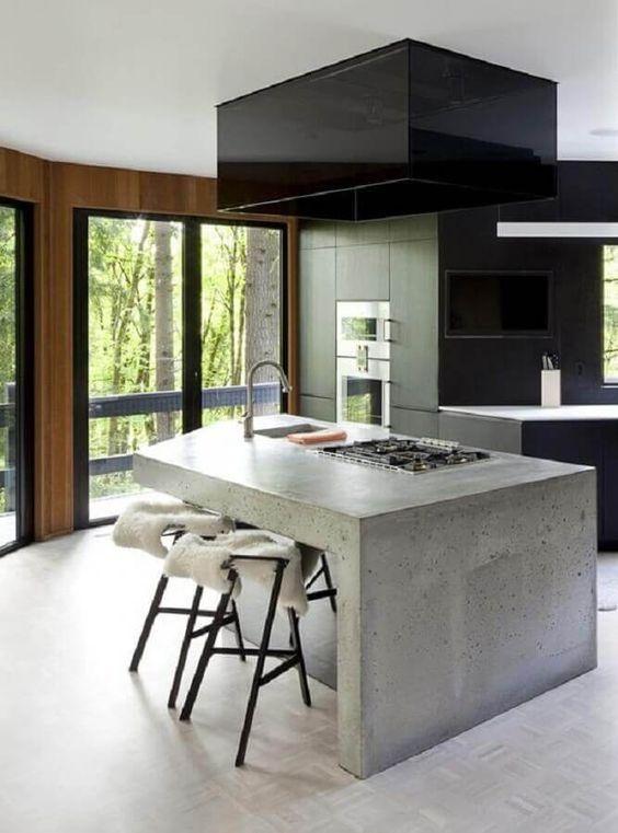 Modern Kitchen Ideas: Chic Dark Style