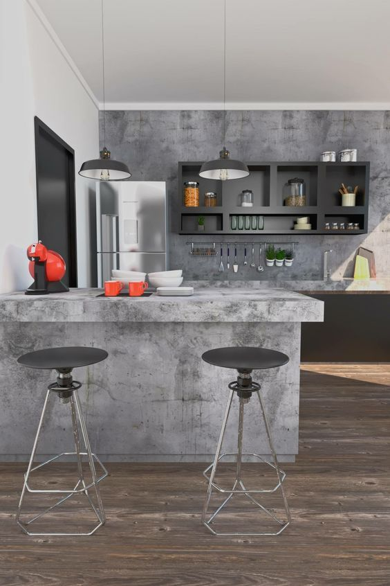 Modern Kitchen Ideas: Captivating Bold Accents