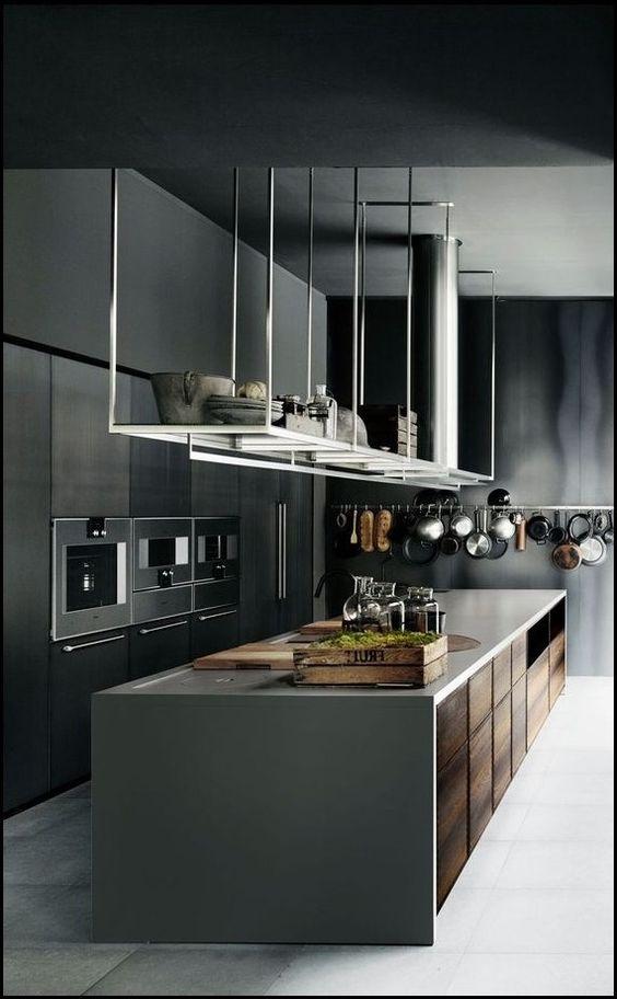 Modern Kitchen Ideas: Chic All-Black