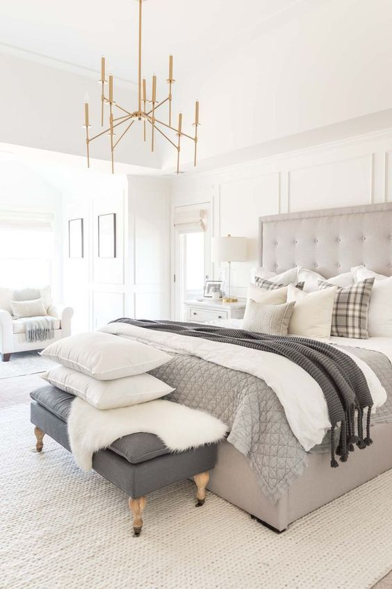 Neutral Bedroom Ideas: Stylish Modern Concept
