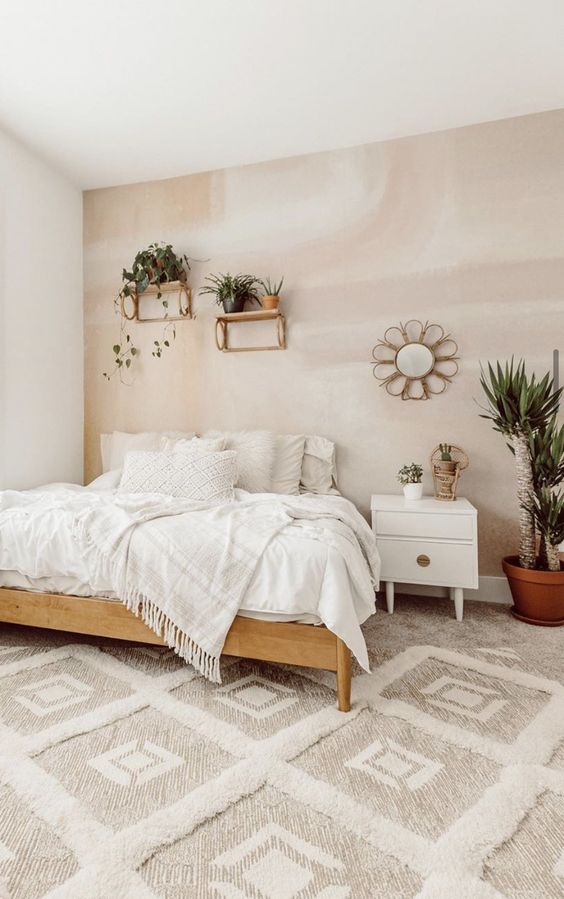 Neutral Bedroom Ideas: Fresh Neutral Rustic