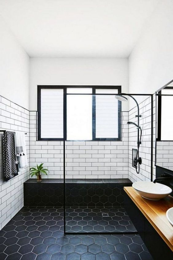 Simple Bathroom Ideas: Chic Monochromatic Decor
