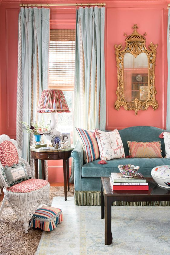 Traditional Living Room Ideas: Classic Retro Vibe