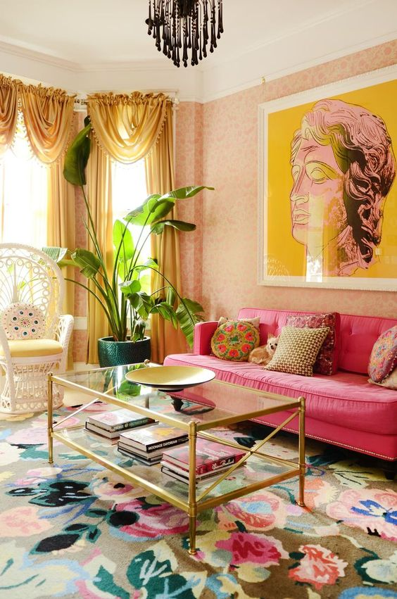 Traditional Living Room Ideas: Lovely Shabby-Chic