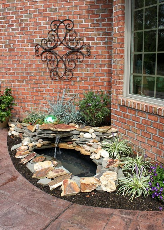 Backyard Pond Ideas: Classic Rustic Vibe
