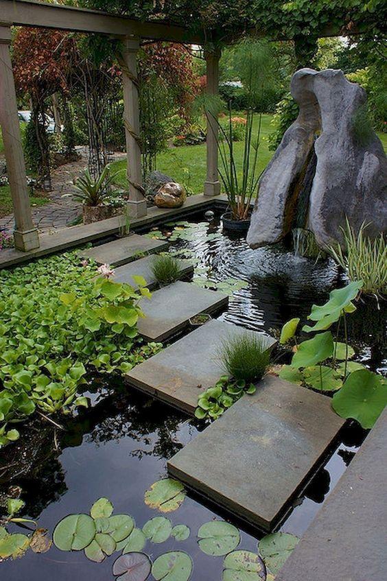 Backyard Pond Ideas: Stunning Big Pond