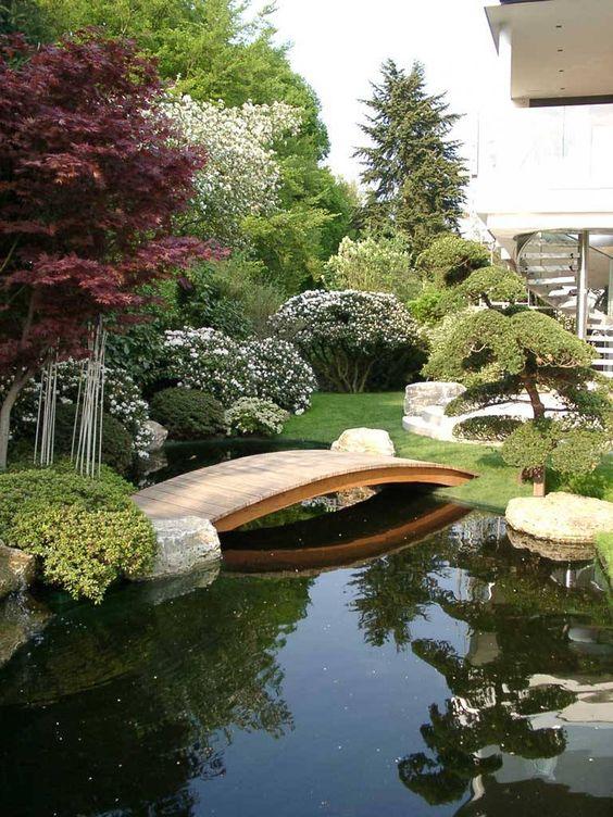 Backyard Pond Ideas: Outstanding Pond Layout
