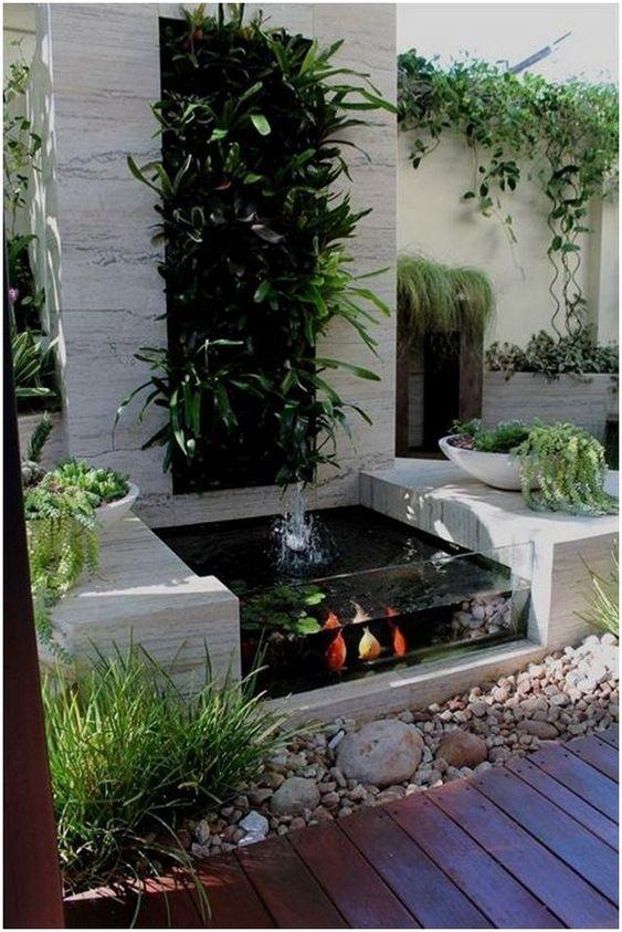 Backyard Pond Ideas: Stylish Fish Pond