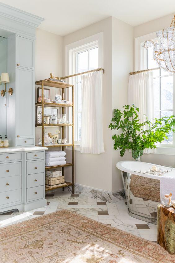 Bathroom Design Ideas: Breathtaking Earthy Accents