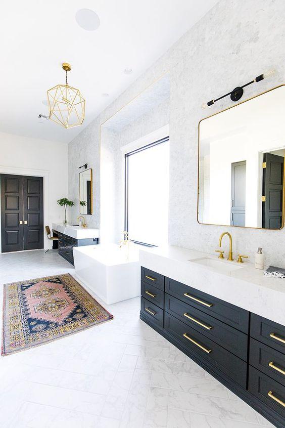 Bathroom Design Ideas: Captivating Bright Look