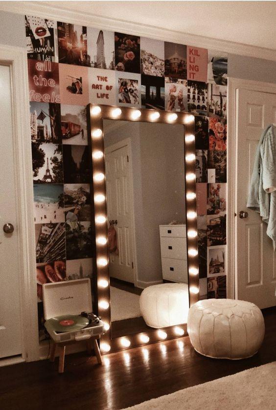 Bedroom Decor Ideas: Decorative Standing Mirror