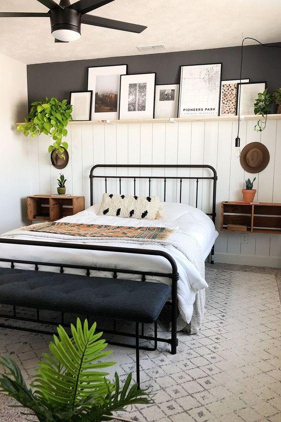 Bedroom Decor Ideas: Stylish Modern Farmhouse