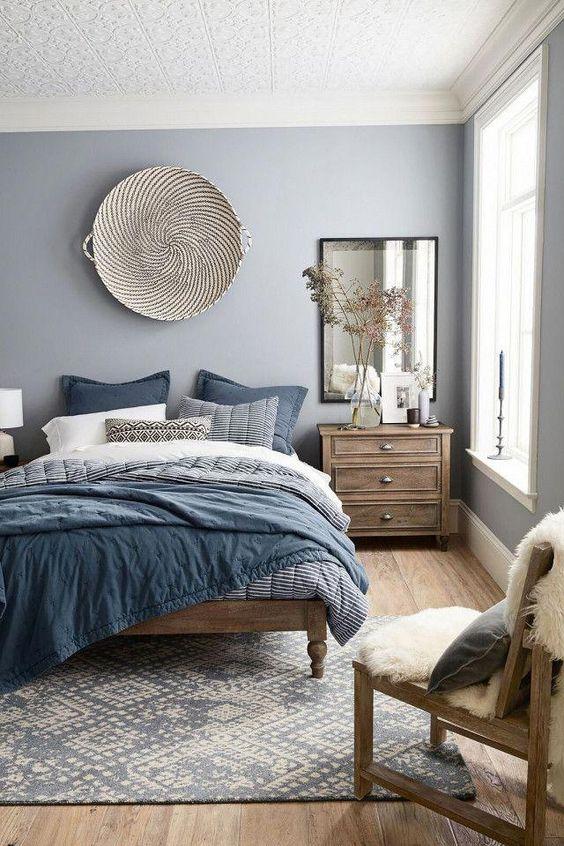 Bedroom Design Ideas: Warm Earthy Tones