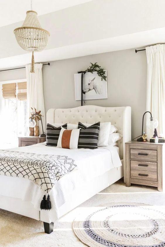 Bedroom Design Ideas: Relaxing Rustic Farmhouse