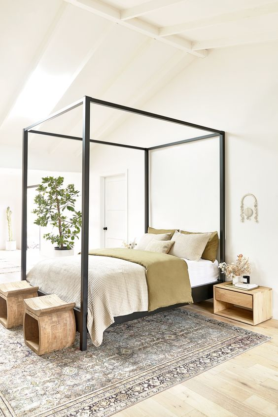 Bedroom Design Ideas: Simple Bed Detail