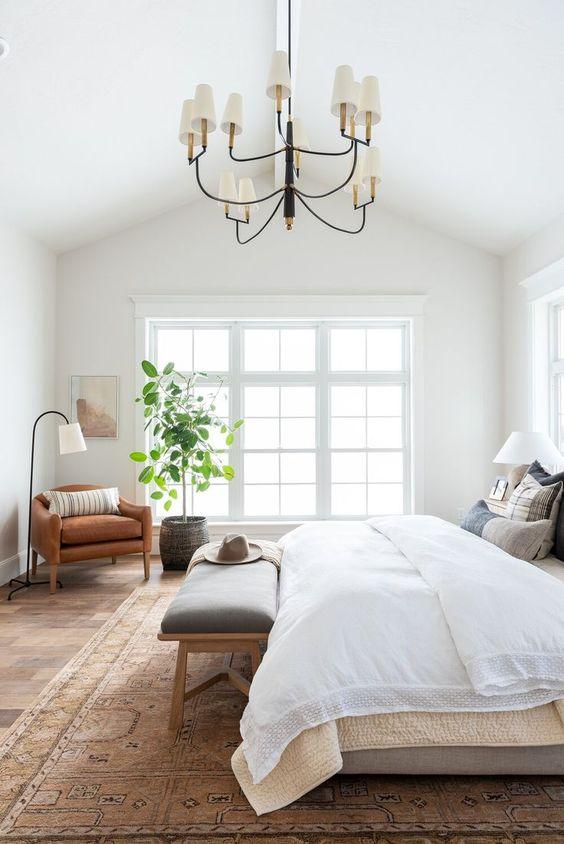 Bedroom Design Ideas: Modern Farmhouse Concept