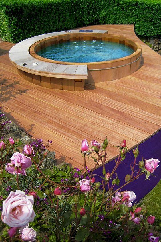 Cedar Hot Tub: Stylish and Modern