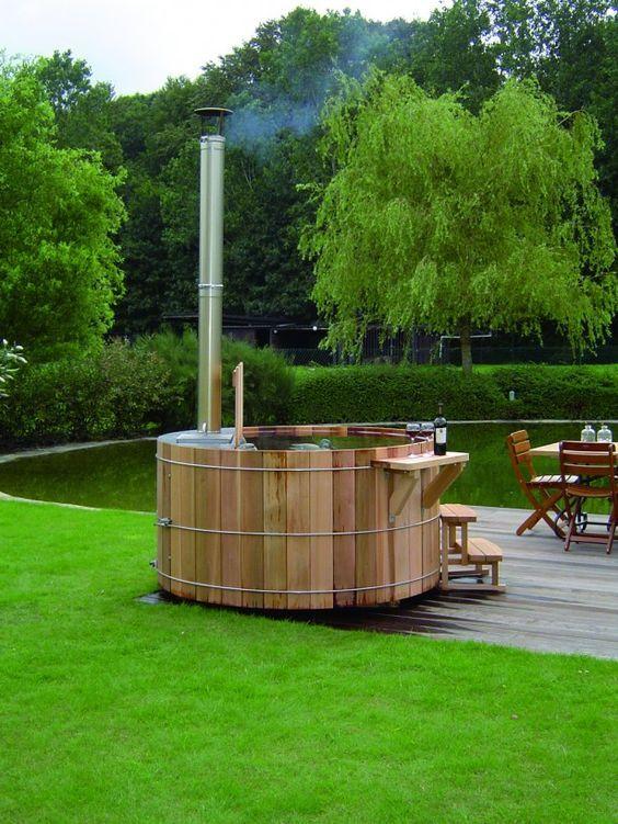 Cedar Hot Tub: Simply Fresh Tub