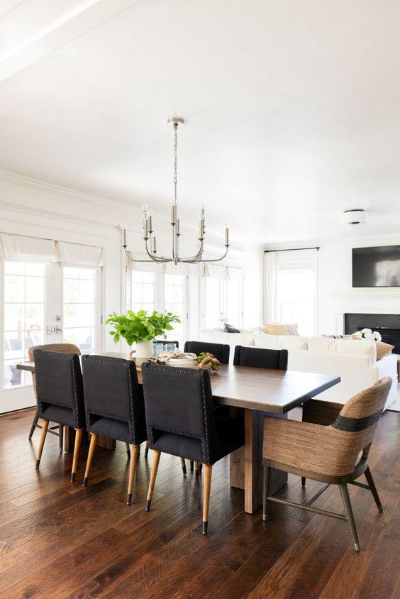Dining Room Design Ideas: Simple Mid-Century Look
