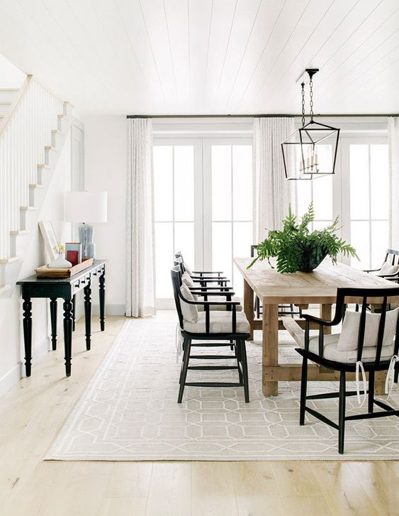 Dining Room Design Ideas: Classic All-White Look