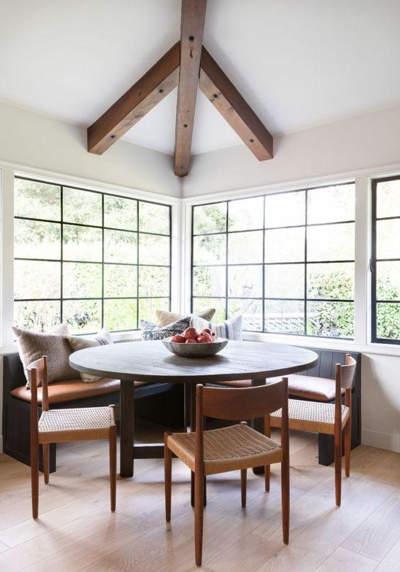 Dining Room Design Ideas: Chic Dining Nook