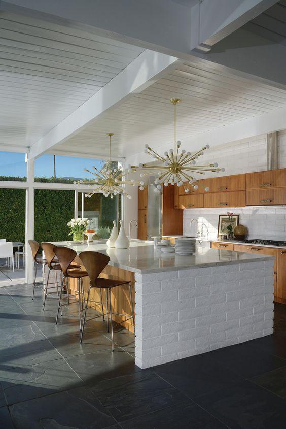 Kitchen Layout Ideas: Stylish Modern One-Wall