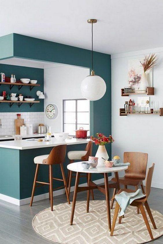 Kitchen Layout Ideas: Lovely Minibar Decor