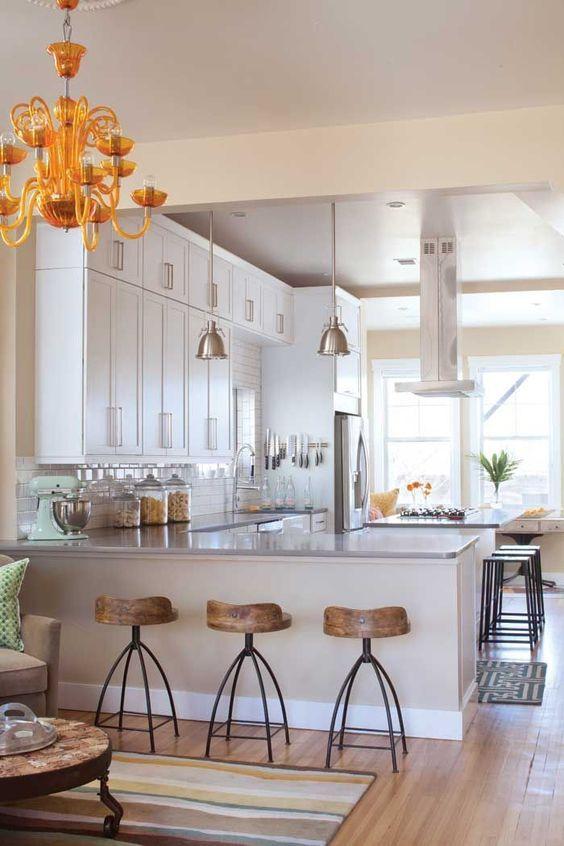 Kitchen Layout Ideas: Classic Peninsula Style