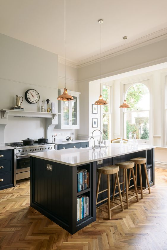 Kitchen Layout Ideas: Open One-Wall