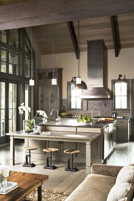 Kitchen Layout Ideas: Striking Open Concept