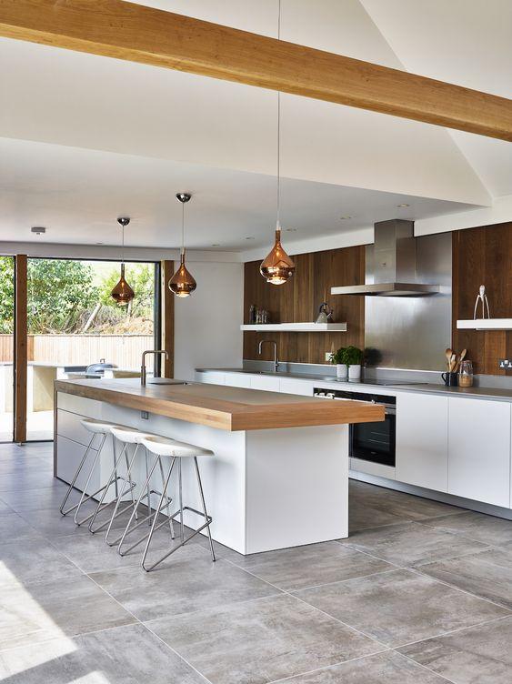 Kitchen Layout Ideas: Simple Modern Rustic