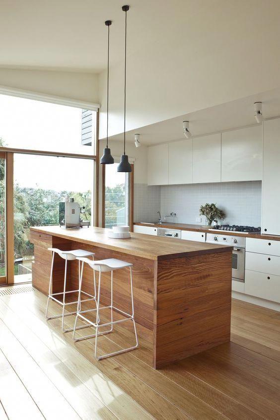 Kitchen Layout Ideas: Trendy Scandinavian Look