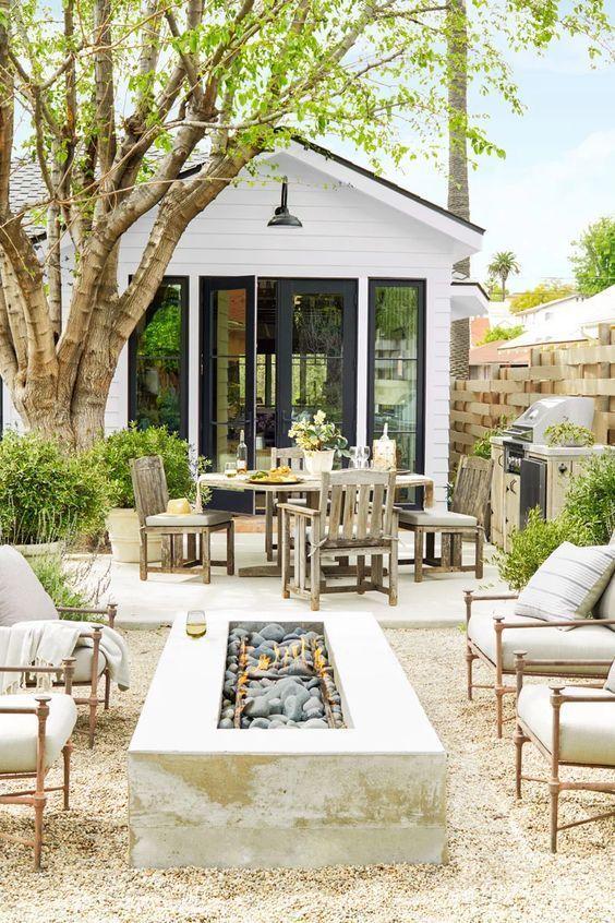 Modern Backyard Ideas: Double Stunning Features