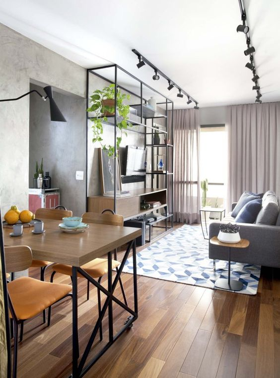 Small Living Room Ideas: Sleek Modern Decor