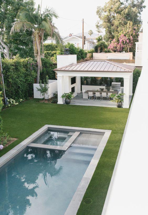 Swimming Pool Inspiration Ideas: Minimalist Pool Tub