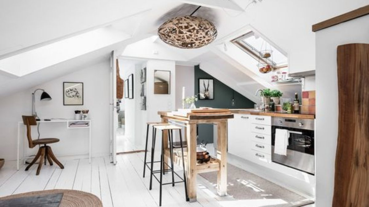 Best Minimalist Attic Kitchen Ideas You Might Want To Consider Decortrendy