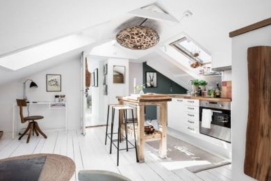 Attic Kitchen Ideas