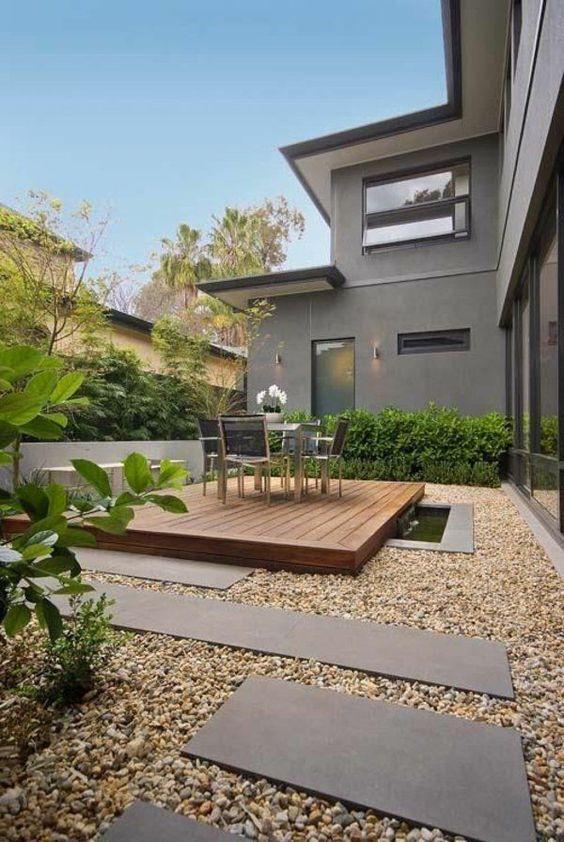 Backyard Inspiration Ideas: Minimalist and Cozy